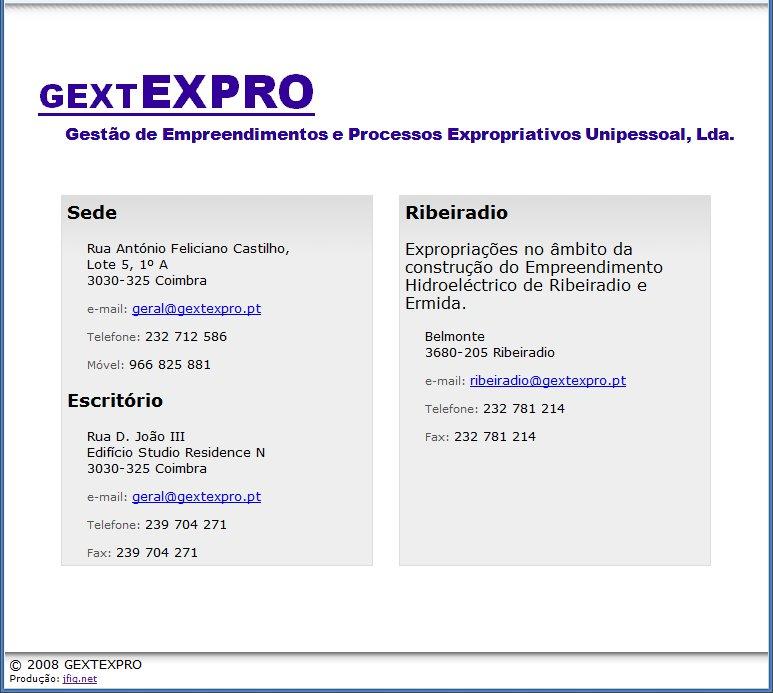 Gextexpro – Uma página muito, muito simples